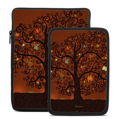 Tablet Sleeve - Tree Of Books