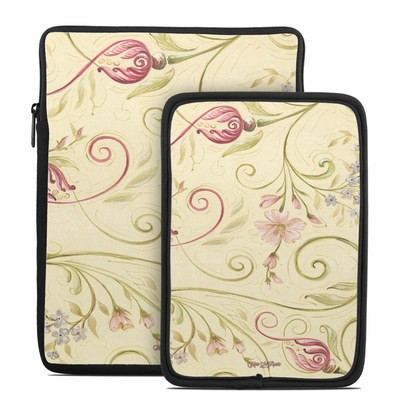Tablet Sleeve - Tulip Scroll