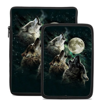 Tablet Sleeve - Three Wolf Moon