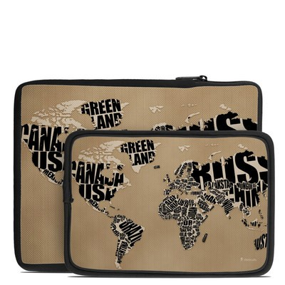Tablet Sleeve - Type Map