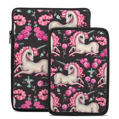 Tablet Sleeve - Unicorns and Roses