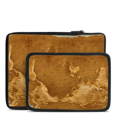 Tablet Sleeve - Upside Down Map