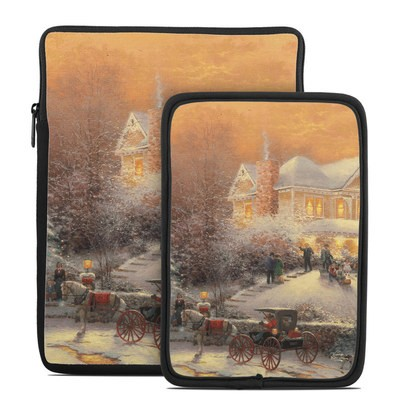Tablet Sleeve - Victorian Christmas