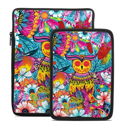 Tablet Sleeve - Vivid Owl