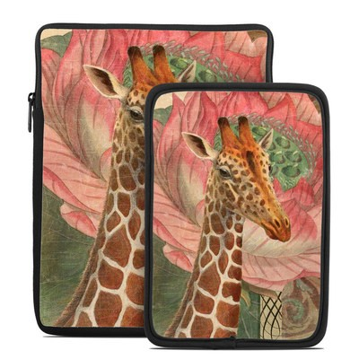 Tablet Sleeve - Whimsical Giraffe
