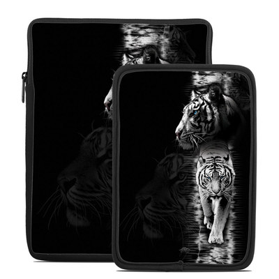 Tablet Sleeve - White Tiger