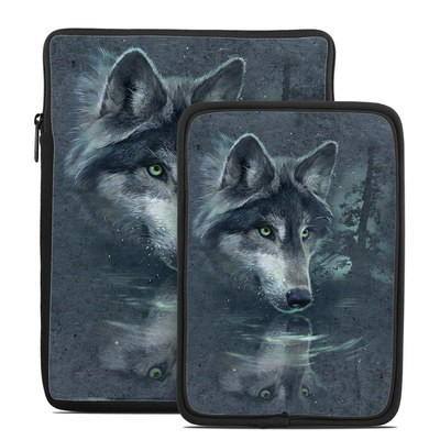 Tablet Sleeve - Wolf Reflection