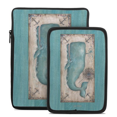 Tablet Sleeve - Whale Watch