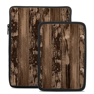 Tablet Sleeve - Weathered Wood