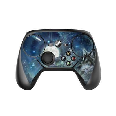 Valve Steam Controller Skin - Bark At The Moon