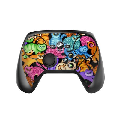 Valve Steam Controller Skin - Colorful Kittens