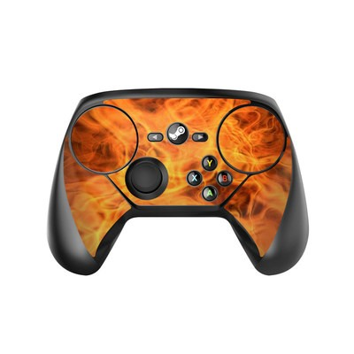 Valve Steam Controller Skin - Combustion