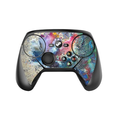Valve Steam Controller Skin - Cosmic Flower