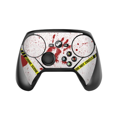 Valve Steam Controller Skin - Crime Scene Revisited