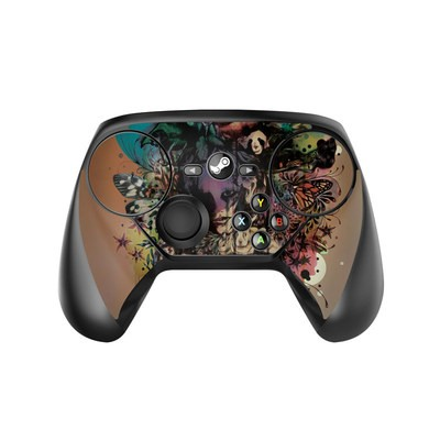 Valve Steam Controller Skin - Doom and Bloom