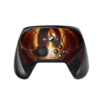 Valve Steam Controller Skin - Fire Dragon