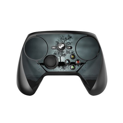 Valve Steam Controller Skin - Flying Tree Black
