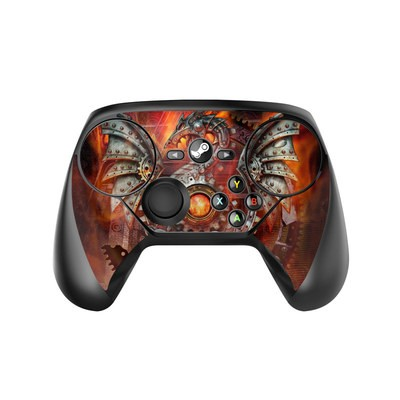 Valve Steam Controller Skin - Furnace Dragon