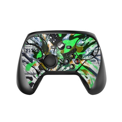 Valve Steam Controller Skin - Green 1