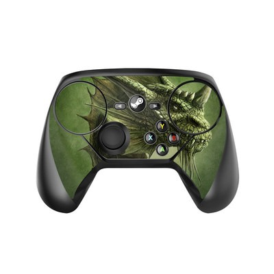 Valve Steam Controller Skin - Green Dragon