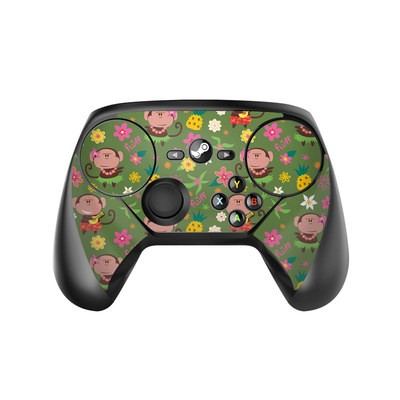 Valve Steam Controller Skin - Hula Monkeys
