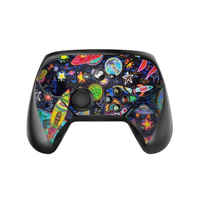 Valve Steam Controller Skin - Out to Space
