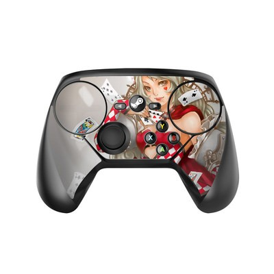 Valve Steam Controller Skin - Queen Of Cards