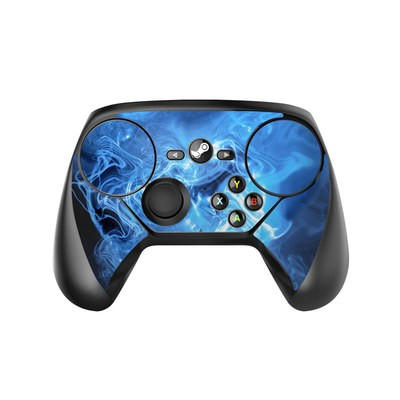 Valve Steam Controller Skin - Blue Quantum Waves