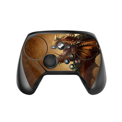 Valve Steam Controller Skin - Red Dragon
