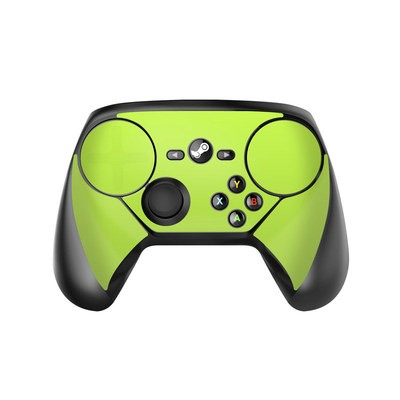 Valve Steam Controller Skin - Solid State Lime