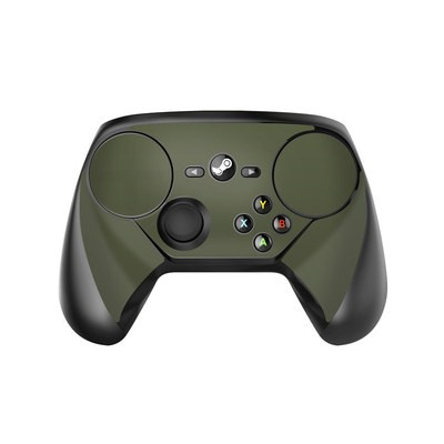 Valve Steam Controller Skin - Solid State Olive Drab