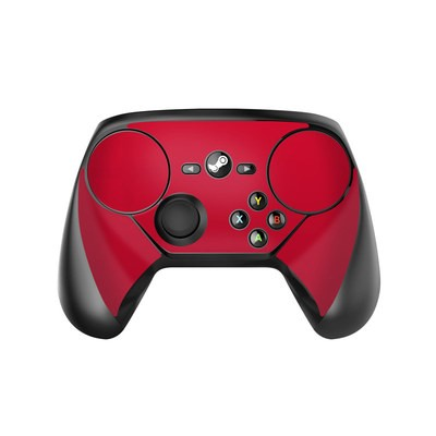 Valve Steam Controller Skin - Solid State Red