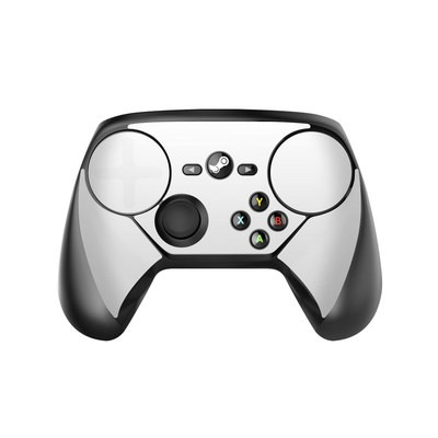 Valve Steam Controller Skin - Solid State White