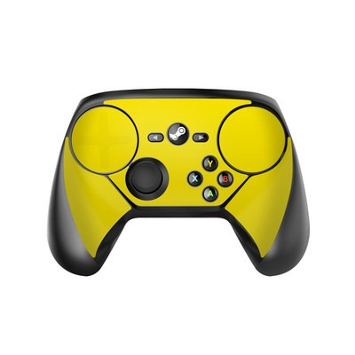 Valve Steam Controller Skin - Solid State Yellow