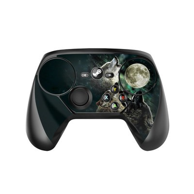 Valve Steam Controller Skin - Three Wolf Moon