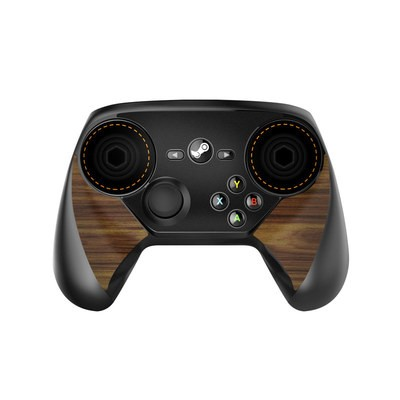 Valve Steam Controller Skin - Wooden Gaming System
