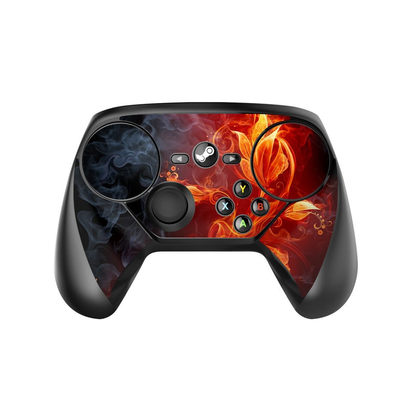 Valve Steam Controller Skin - Flower Of Fire by Gaming ...Valve Console Controller