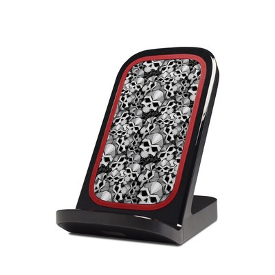 Verizon Qi Wireless Charging Stand Skin - Bones