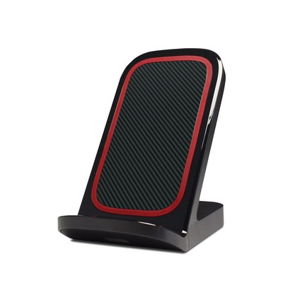 Verizon Qi Wireless Charging Stand Skin - Carbon