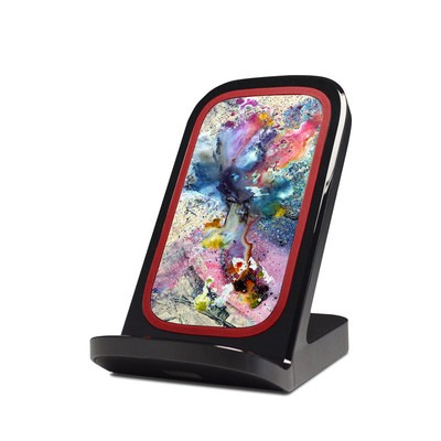 Verizon Qi Wireless Charging Stand Skin - Cosmic Flower