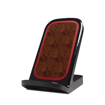 Verizon Qi Wireless Charging Stand Skin Purple Burst
