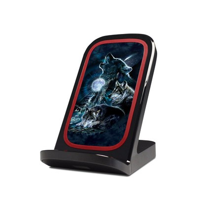 Verizon Qi Wireless Charging Stand Skin - Howling