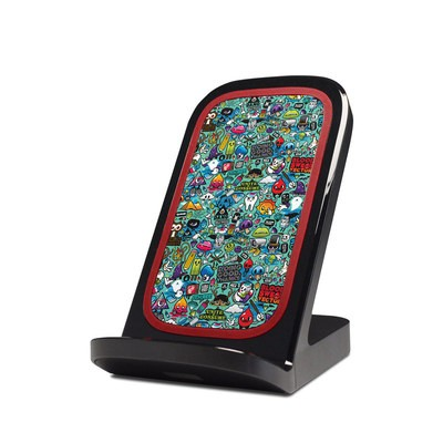 Verizon Qi Wireless Charging Stand Skin - Jewel Thief