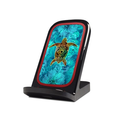 Verizon Qi Wireless Charging Stand Skin - Sacred Honu
