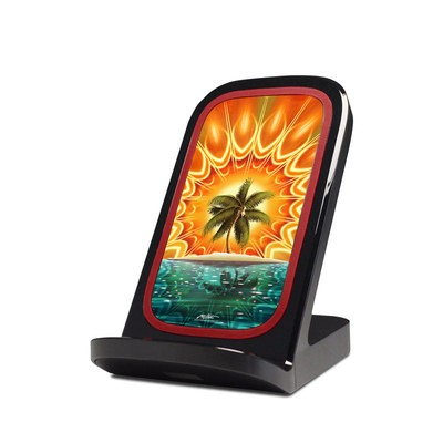 Verizon Qi Wireless Charging Stand Skin - Sundala Tropic