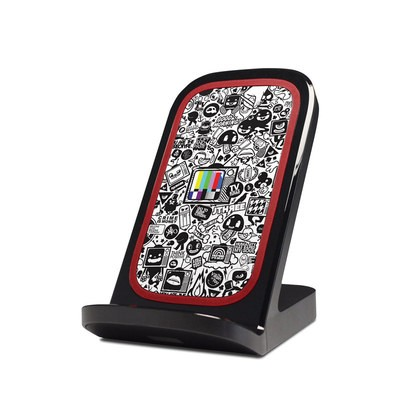 Verizon Qi Wireless Charging Stand Skin - TV Kills Everything