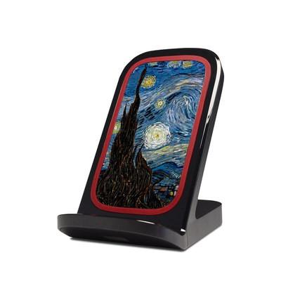 Verizon Qi Wireless Charging Stand Skin Blossoming