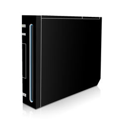Wii Skin - Solid State Black