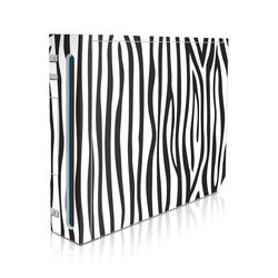 Wii Skin - Zebra Stripes