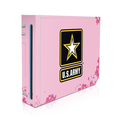 Wii Skin - Army Pink